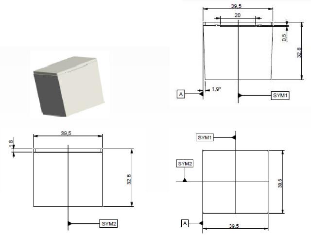 Dimensional-drawing-lyso-detector